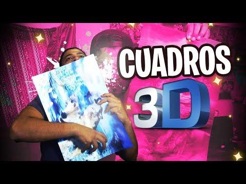 🌌 CUADROS 3D