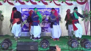 jajiri jajiri folk dance performance by zphs gangaram students