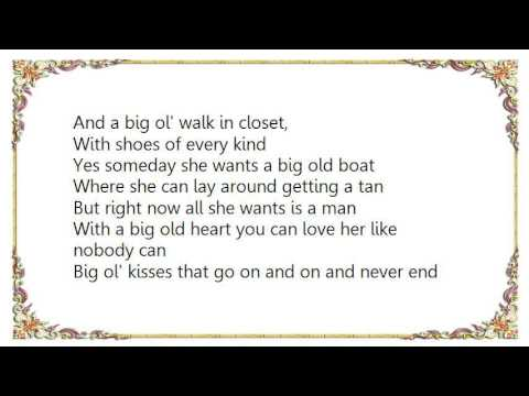 Joe Nichols - Size Matters Someday Lyrics