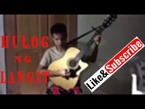 Hulog ng Langit | Blind man Guitar Cover
