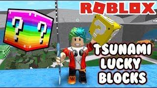Lucky Blocks en Roblox   Batallas Epicas   Juegos Roblox Karim Juega