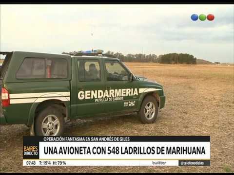 Una pista narco en San Andrés de Giles – Telefe Noticias
