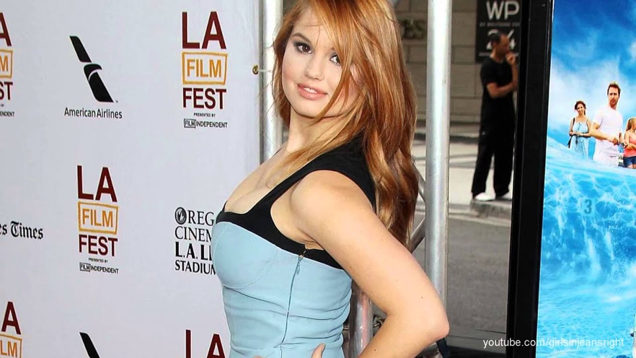 Debby ryan ass up