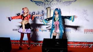 巴哈姆特15週年站聚Cosplay大賽團體組萌萌燐月Vocaloid.
