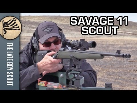 The Time is NOW to Buy a Savage 11 Scout: Review and Rebate