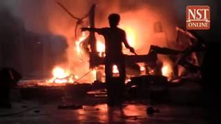 Man injured in Sungai Besar explosion