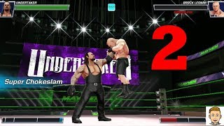 WWE MAYHEM gameplay || Action packed part #2
