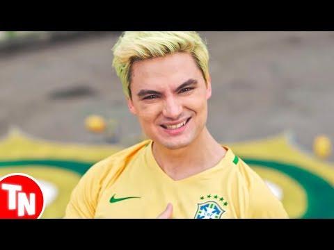 Felipe Neto é fortemente zoado após lançar música Família Canarinho