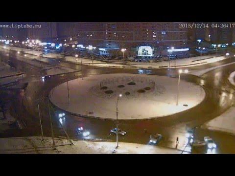 Ночная погоня ГИБДД в Липецке