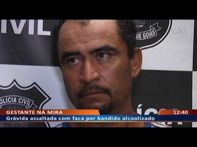 DF ALERTA - Grávida assaltada com faca por bandido alcoolizado
