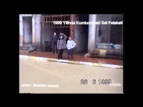 1998 yılımda Kumluca'daki sel felaketinden görüntü