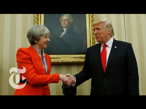 Trump and Theresa May Speak
