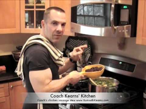 Chicken Stew - Cooking with Coach Kearns