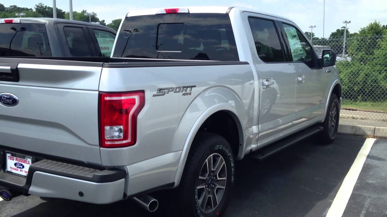 2015 ford f 150 silver super crew youtube. Black Bedroom Furniture Sets. Home Design Ideas