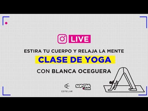 En YouTube: Clase de yoga para relajarnos después del home office