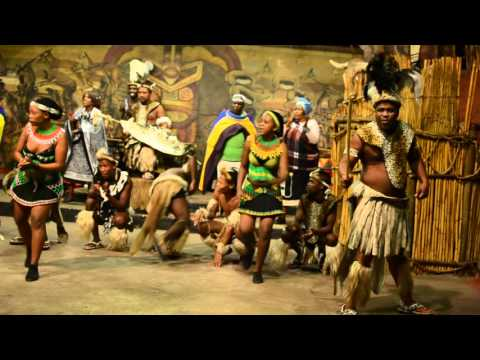 Traditional dances at Lesedi Afrcan Lodge and Cultural Village, in South Africa