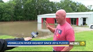Residents Concerned About Flooding in Lafayette