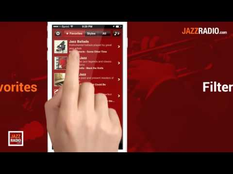 JAZZRADIO.com Android App Preview