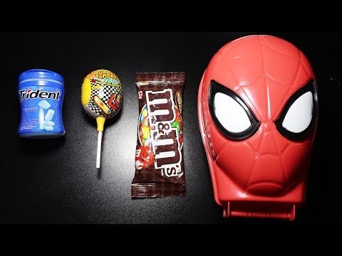 Thumbnail: Learn Sizes with Surprise Chupa Chups Lollipops Candy Nursery Rhymes Song M&Ms Chocolate