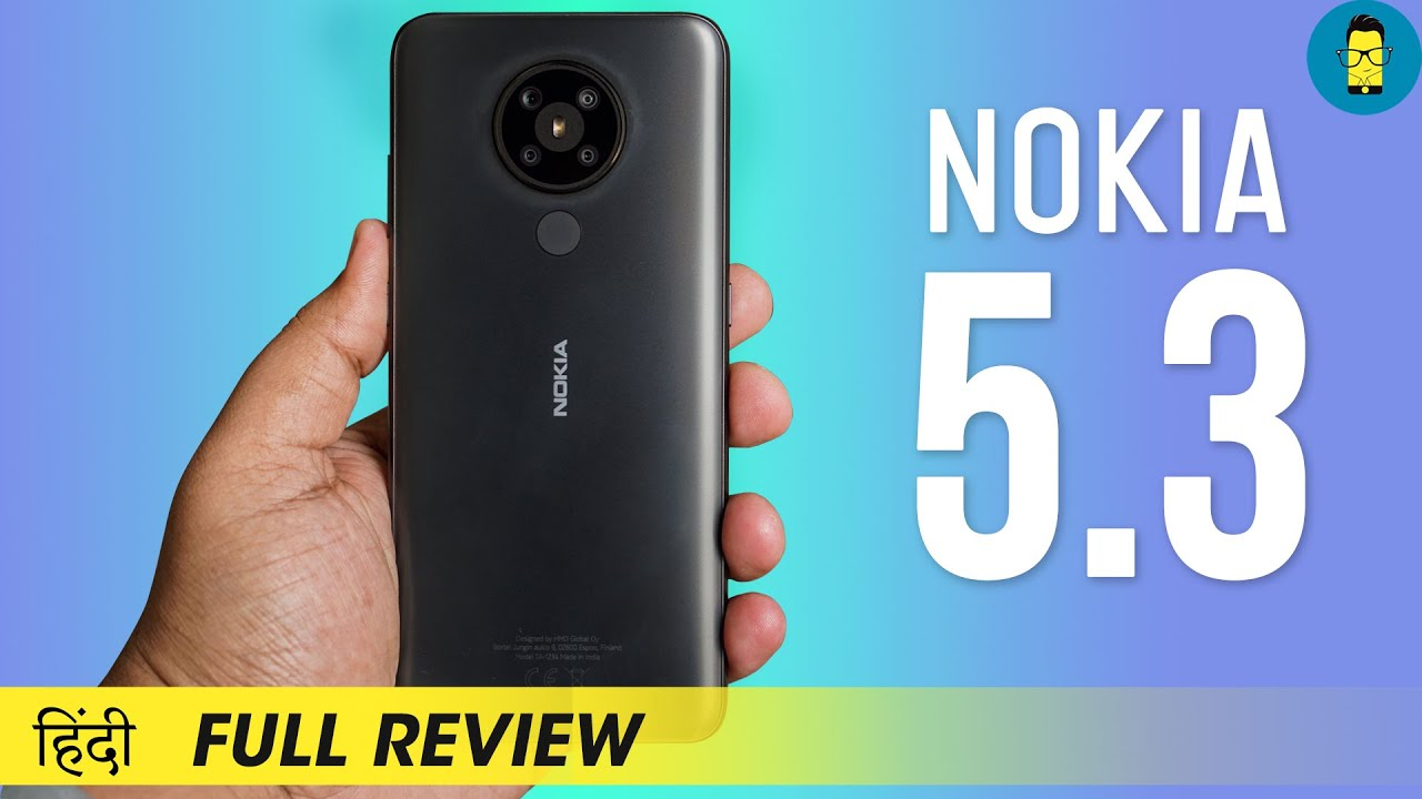 [हिंदी] Nokia 5.3 Full Review   Rs.13,999   Stock Android Wala Non-Chinese Midranger!