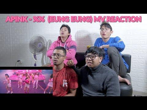 'MURID DARI DR STRANGE DAN MAGNETO' | Apink - %% (EUNG EUNG) MV REACTION