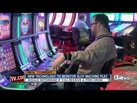 New Technology Determines Free Drinks During Slot Machine Play