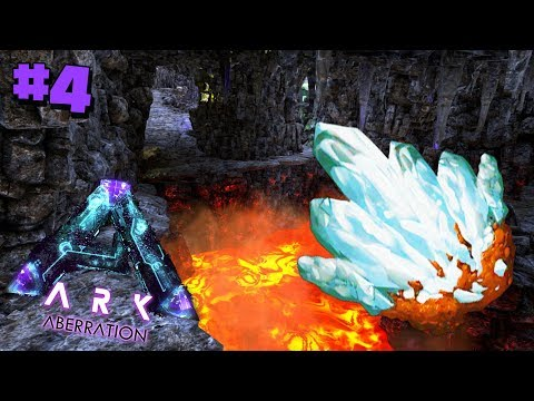 THE BEST CAVE TO MINE IN?!  - Ark Aberration #4
