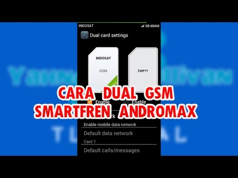 Video Cara Membuat Andromax C Internet Gsm