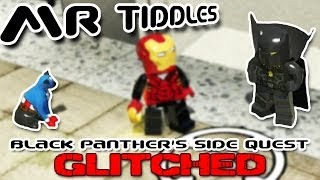 Marvel Lego Cat Glitch! (Mr Tiddles - Black Panther Side Quest)