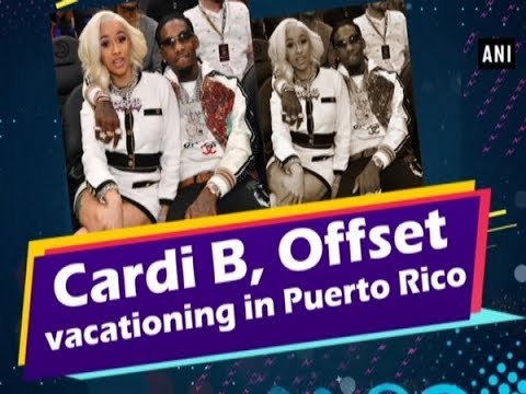 Cardi B Offset Vacationing In Puerto Rico Bollywood News Youtube
