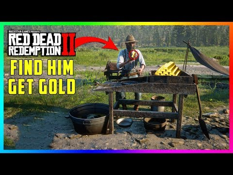 If You Find This Prospector In Red Dead Redemption 2 You'll Get FREE Gold & Much MORE! (RDR2) thumbnail