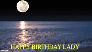 Lady  Moon La Luna - Happy Birthday