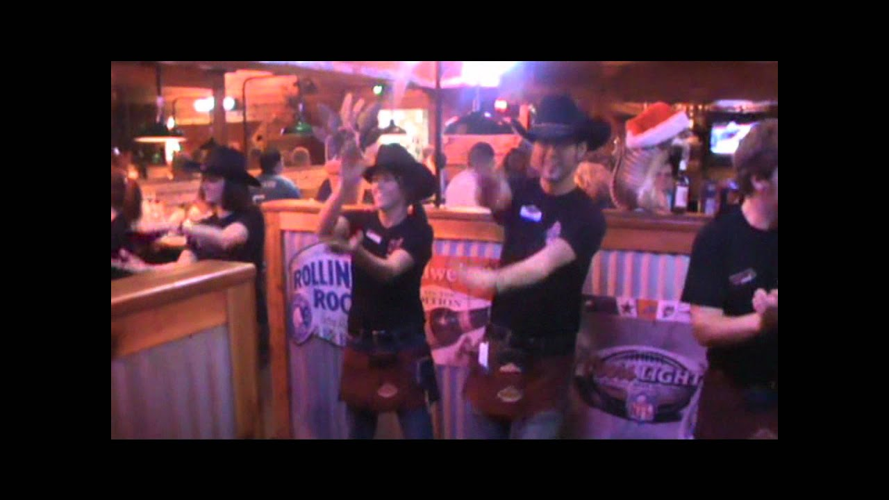 texas roadhouse line dancing video.wmv - YouTube