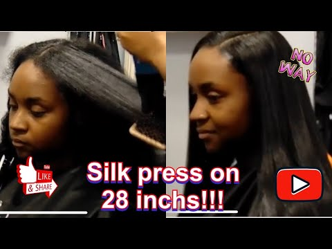 Introducing Cyn Doll's Silk Fusion Therapy (Straightening Extremely Long N Thick Hair Safely)