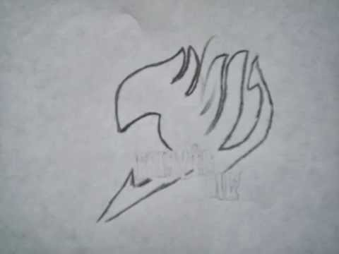 Dessiner le logo de fairy tail tape par tape youtube - Embleme de fairy tail ...