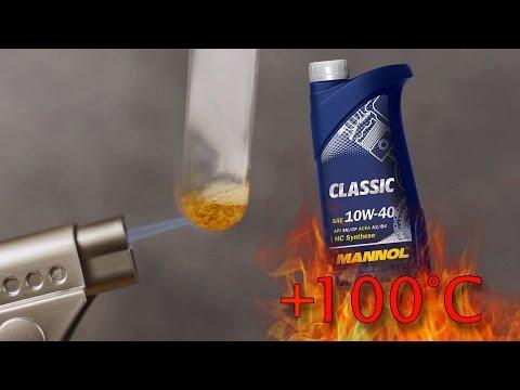 Mannol Classic 10W40 Jak czysty jest olej silnikowy? Test powyżej 100°C