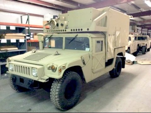 2008 Am General M1113 4x4 Humvee Hmmwv Shelter Carrier