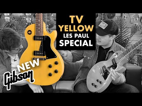 NEW Gibson | Les Paul Special | TV Yellow
