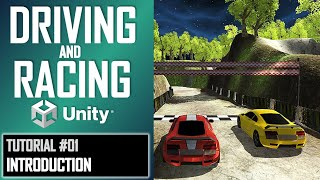 How To Make A Driving & Racing Game For FREE - Unity Tutorial #01 - BEGINNER BASICS