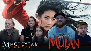 Disney's Mulan | Final Trailer- REACTION and REVIEW!!!