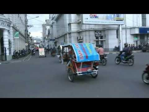 INDONESIA city centre of Medan (hd-video)