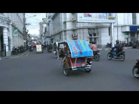 INDONESIA city centre of Medan (hd-video)