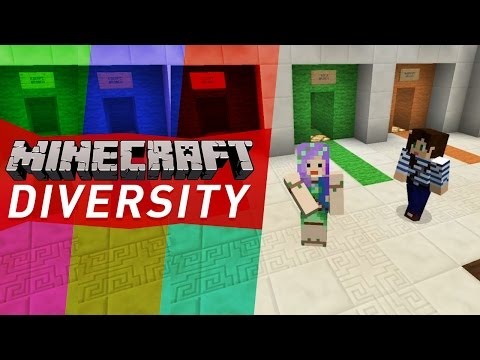 aMAZING MAP! - Minecraft Diversity w/ Stacy Ep1