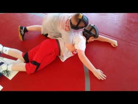 Grappling training(4)