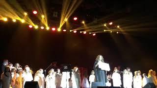 Могилевская спела с детьми в Мариуполе