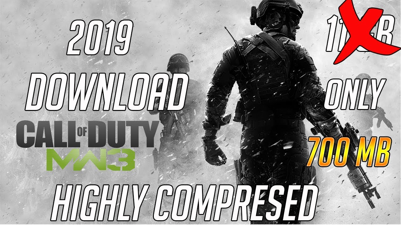 CALL OF DUTY MODERN WARFARE 3 HIGHLY COMPRESSED PC IN JUST 700 MB 100% WORKING WITH PROOF