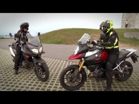 Motos Garage Tv : Ruta del Angliru al Monte Naranco con Judith Obaya y las Suzuki V-Strom