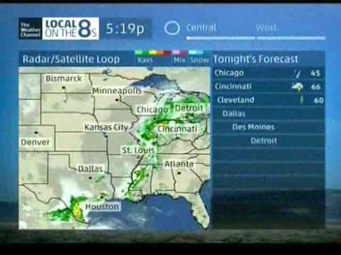 Weather Channel July/August 2016 Evening 1 - 20 (Smooth Jazz)
