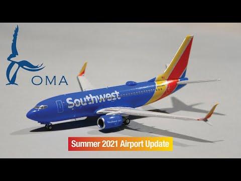 Omaha Eppley OMA Airport Update Summer 2021