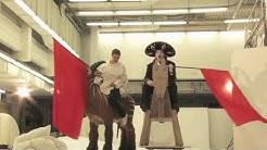 Hinter der Bühne: Mirco Kreibich und Sebastian Rudolph Fotoshooting